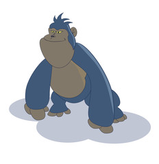 cute cartoon gorilla