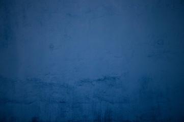 Verwitterte blaue Oberfläche