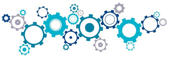 Linked Cogwheels Design