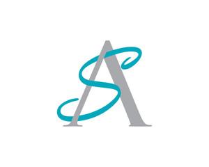 Neo AS SA Letter Logo Icon