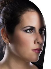Junge Frau / Make-Up