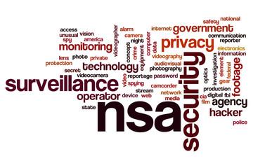 NSA word cloud