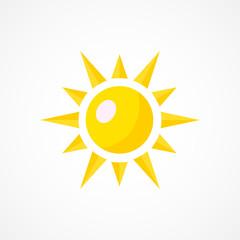 Sun Icon Sign