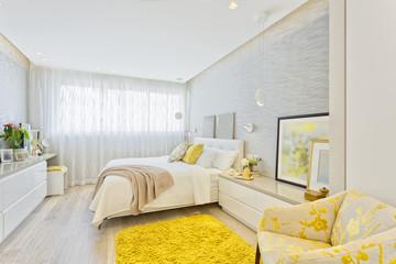 Modern Luxury Bedroom Wall mural