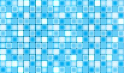 Fond mosaïque bleu