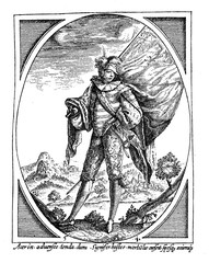 Soldier portrait late XVI century
