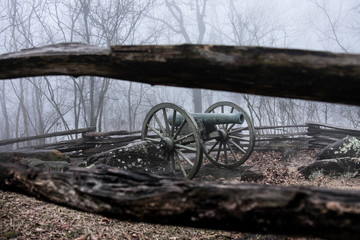 Civil War canon on Kennesaw Mt. near Atlanta