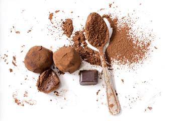 Fototapeta Chocolate truffles obraz