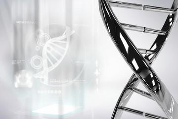 Silver DNA graphic design