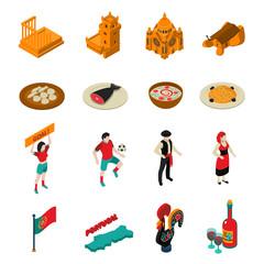 Portugal Icons Set