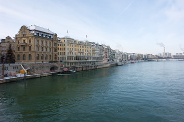 Basel im Winter
