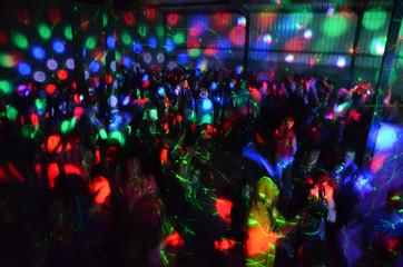 People Enjoying At Nightclub