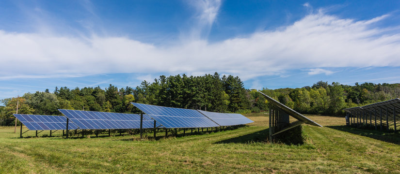 rural farm using solar energy to become self sufficient