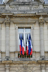 Bonsecours, France - june 22 2016 : city hall