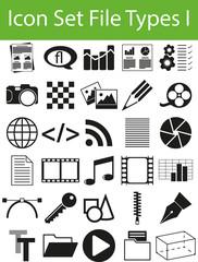 Icon Set File Types I