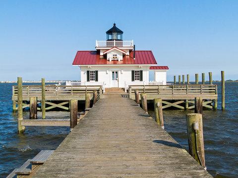 Roanoake Marshes Lighthouse - Manteo, North Carolina