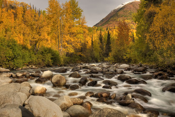 Little Susitna River at Hatcher Pass, Alaska, USA