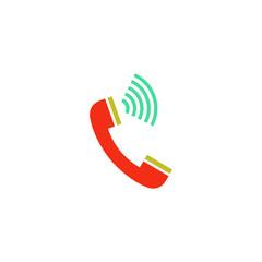 Phone call Icon Vector