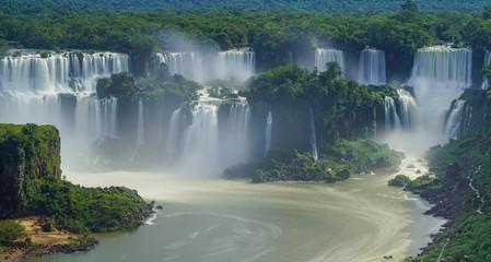 Iguazu falls, Foz do Iguazu, Brazil