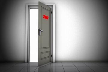 Door to the year 2017