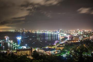 Pattaya City in Thailand.