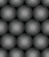 Abstract vector geometric circles
