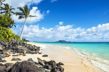 Lanikai Beach, Kailua, Oahu, Hawaii Fototapete