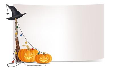 Halloween Dekoration Banner