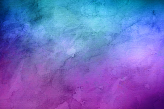 Blue and purple random background with copy space