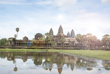 Ancient stone ruins of Angkor Wat, Phanom Rung