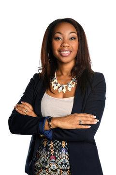 Beautiful African American Busineswoman