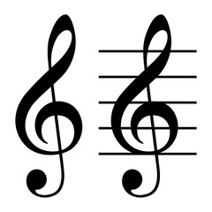 音楽記号:ト音記号