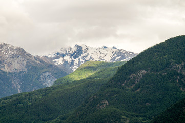 mountain scenery, mountains of Valle d'Aosta, Italian Alps