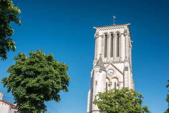 Clocher de l'église Notre Dame à Challans