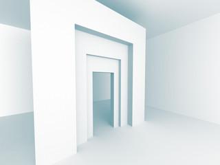 Futuristic Architecture Building Construction Background