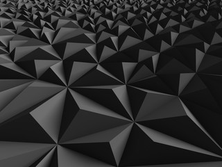 Dark Chaotic Poligon Surface Background