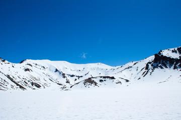 Mount Tongariro Snow