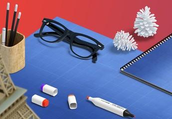Desktop Presentation Mockup Scenes
