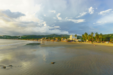 Scenes of daily life in the laid-back beach town of San Juan del Sur on Nicaragua, General travel imagery for Nicaragua