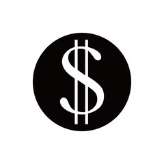 money icon stock vector illustration flat design