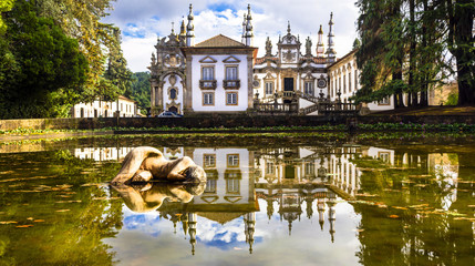 beautiful Vila real castle in Portugal - Solar de Mateus Fototapete