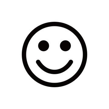 Smile icon stock vector illustration flat design