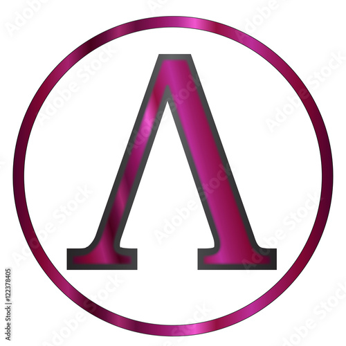 Lambda Greek Letter Stock Image And Royalty Free Vector Files On