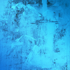 Abstract blue grunge texture