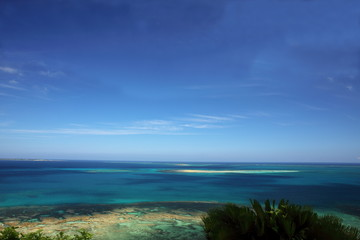 Blue sea of Okinawa