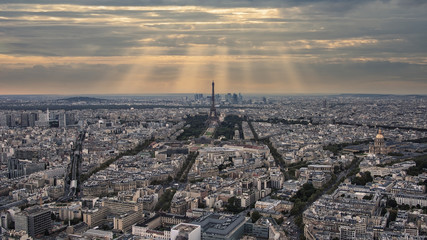 Paris under the sunlight