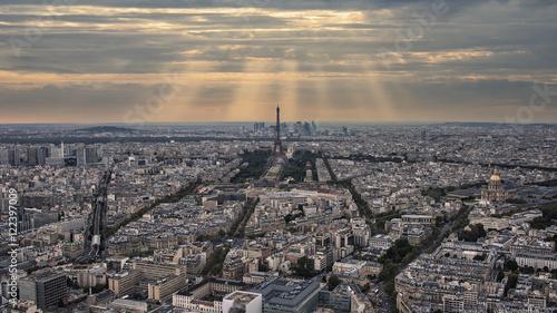 Fototapete Paris under the sunlight