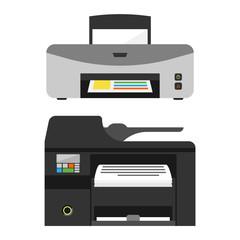 Printer vector illustration.