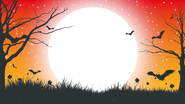 Cadılar Bayramı - Halloween Background