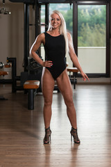 Portrait Of A Physically Fit Pretty Young Woman